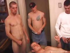 Eight Boys Jacking Off