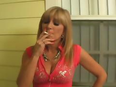Cigarette, Blonde, Fucking, Mature, Old, Sex