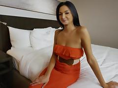 Hotel, Blowjob, Brunette, College, Fucking, German