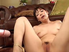 Nao Mizuki in Bukkake Party - JapanHd