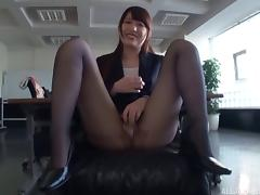 Office, Asian, Blowjob, Couple, Cute, Hardcore