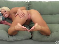Shaved Pussy, Asshole, Bikini, HD, Masturbation, Strip