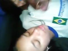Sborrata in Bocca a Brasiliana