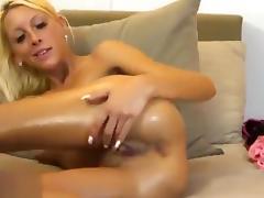 All, Blonde, Masturbation, Nude, Webcam