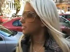 Car, Babe, Blonde, Car, European, Fucking