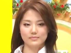 Japanese news reporter gets fucked while on air