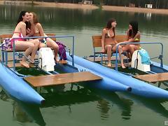 Bikini, Amateur, Babe, Bikini, Lesbian, Outdoor