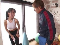 Japanese squirter fingered and fucked in multiple scenes