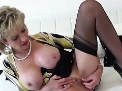 Cheating british milf gill ellis displays her massive puppie