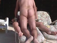 Mature outdoor fuck