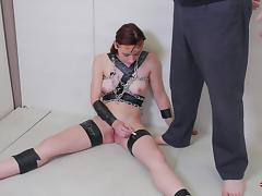 Audrey agrees to have the best bondage adventure of her career