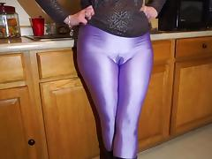 BDSM, Amateur, BDSM, Latex, Spandex, Leggings