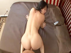 Hot MILF Rayveness gives up all holes