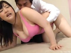 asian hot chick with huge assets