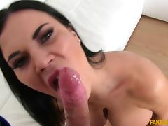 Jasmine Jae  in  Sexy English babe sucks and fucks - FakeAgent