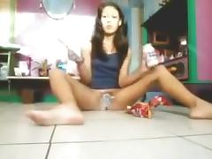 Horny silly selfie college girl video (529)