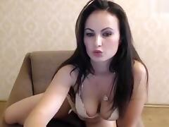 Missslady cute chatting and fucks herself