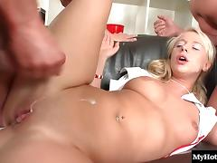 Rachel La Rouge is always getting her holes filled by dudes