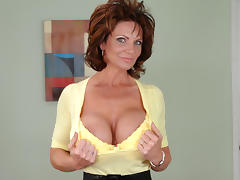 Shop, Bed, Husband, Mature, MILF, Pussy