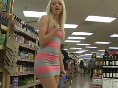 Banana, Banana, Blonde, Fucking, HD, Public