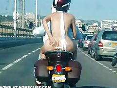 Biker, Biker, Comic, Couple, Funny, Nude