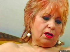 Grandma, Banana, BBW, Granny, Masturbation, Mature