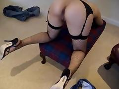Wife in stockings and heels part three