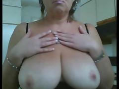 amateur big tits mature
