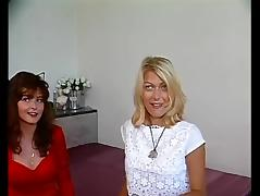Behind The Scenes, Amateur, Audition, Casting, German, Lesbian
