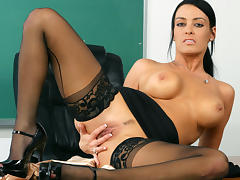 Vanilla DeVille & Danny Wylde in My First Sex Teacher