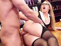 Amazing Blonde video with Big Butt,Anal scenes