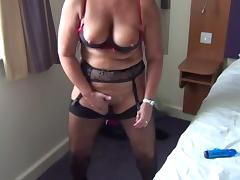 stockinged milf
