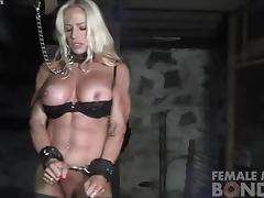 Bound, Bound, Muscle, Bodybuilder, Tied Up, Hogtied