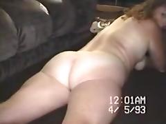 Old VHS wife stripping