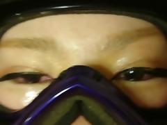 cum goggles