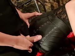 Leather, Cum, Latex, Leather, Jizz