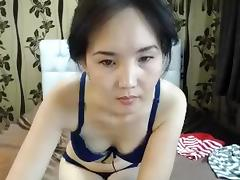Asian, Asian, Ass, Brunette, Lingerie, Solo