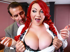 Harmony Reigns & Tony De Sergio in Dress Code Cunt - Brazzers