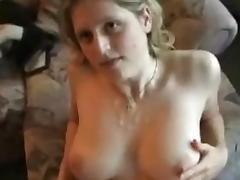 Huge tits jiggle when fucked