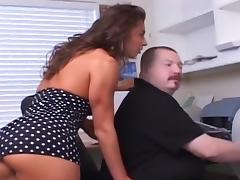 Excellent Natural tits Cunilingus immoral action. Enjoy watching