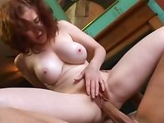 Crazy pornstar Mae Victoria in incredible cunnilingus, milfs porn video