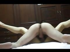 Japanese cowgirl convulsions to Cum
