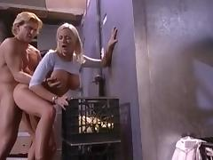 Best pornstar Stacy Valentine in amazing blowjob, blonde sex video