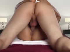Hot couple sex tape creampie