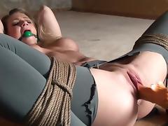Bondage, BDSM, Bondage, Dildo, Pussy, Vibrator