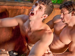 Jimmy Fanz & Zeb Atlas in The Woods: Part 1, Scene #04