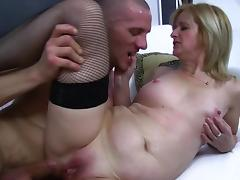 Old & Young - Sexy mom and young lover