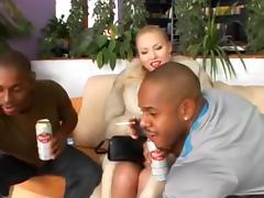 Outstanding Interracial Fingering porn scene