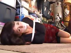 Garage woman