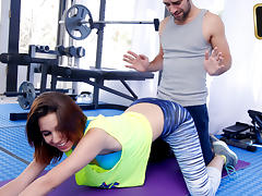 Cece Capella in Cum Squeeze Workout   - TeamSkeet